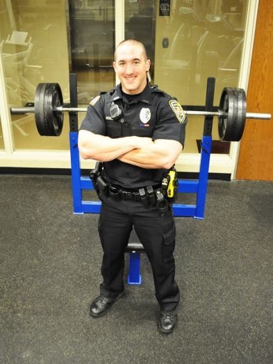 Dixon Police Officer P.J. Ginn returned to the force two weeks ago after being diagnosed with brain cancer in February.