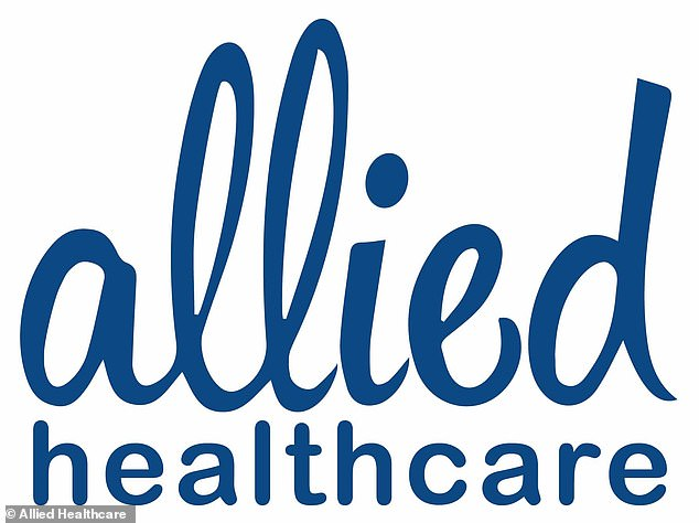 Allied Healthcare, whose headquarters is based in Stafford, issued reassurances that its operations are 'sustainable and safe'