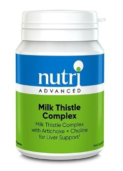 Milk thistle complex nutriadvancved hangover hacks