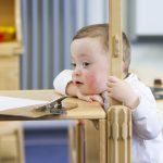 Functional skills of those with Down syndrome can improve into adulthood