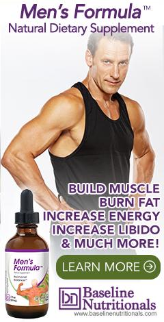 Men's Formula From Baseline Nutritionals