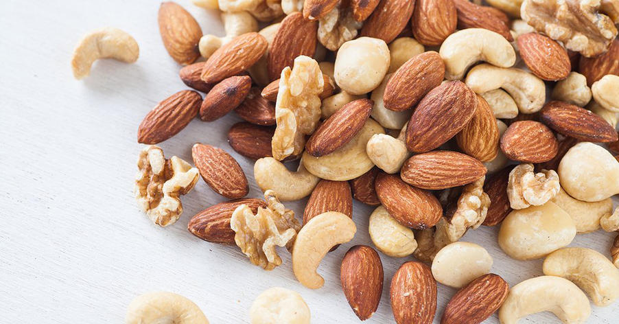 mixed nuts perfect snack