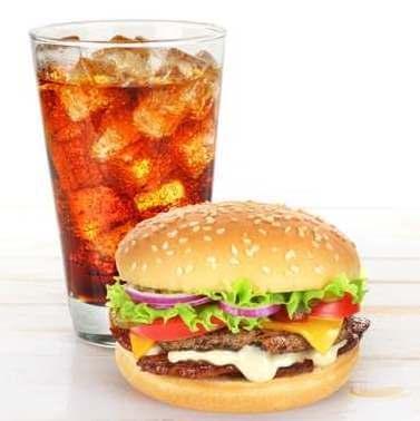 hamburger-and-glass-of-cola
