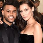 Bella Hadid and The Weeknd Wore Matching Camo Outfits to His Birthday Party Last Night