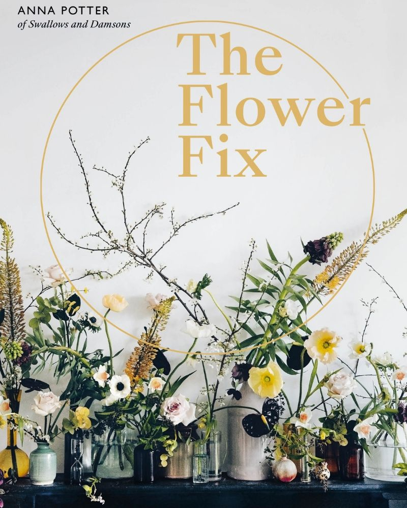 7 ways flowers boost your mood - flower fix - book cover