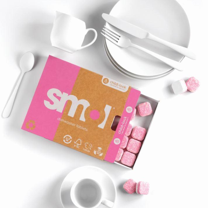 Smol dishwasher tablets environmentally friendly